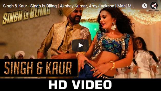 Singh & Kaur: Blingier Chemistry Of Akshay Kumar And Amy Jackson