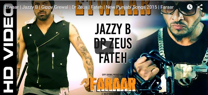 Etwaar - Jazzy B And Dr Zeus Duo Is Back With Another Party Hit