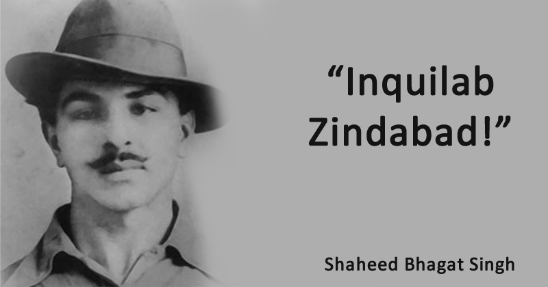 Bhagat Singh Quotes Images Status Slogan Photos Shayari