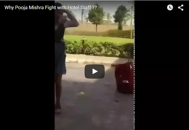 Pooja Mishra Goes Bizarre and Slaps The Hotel Staff