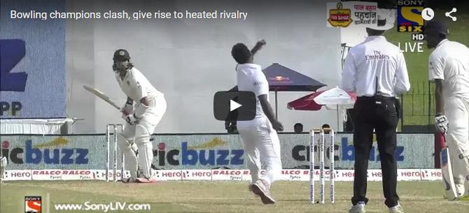 Turned Up Heat In Colombo: Ishant Sharma-Dhammika Prasad Fight