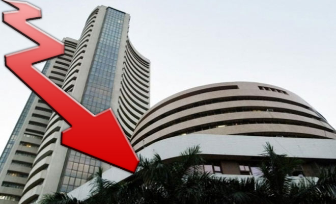 Sensex down 524 points; Upcoming US macro Data Dent Markets