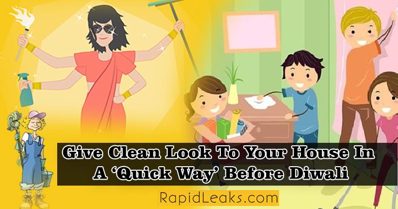 Diwali Cleaning