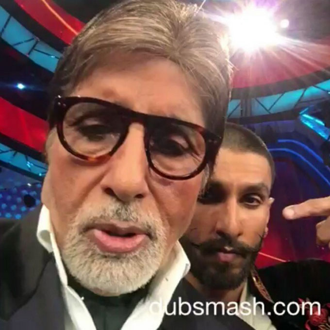 Amitabh Bachchan's Dubsmash With Ranveer Singh Is The Best One!