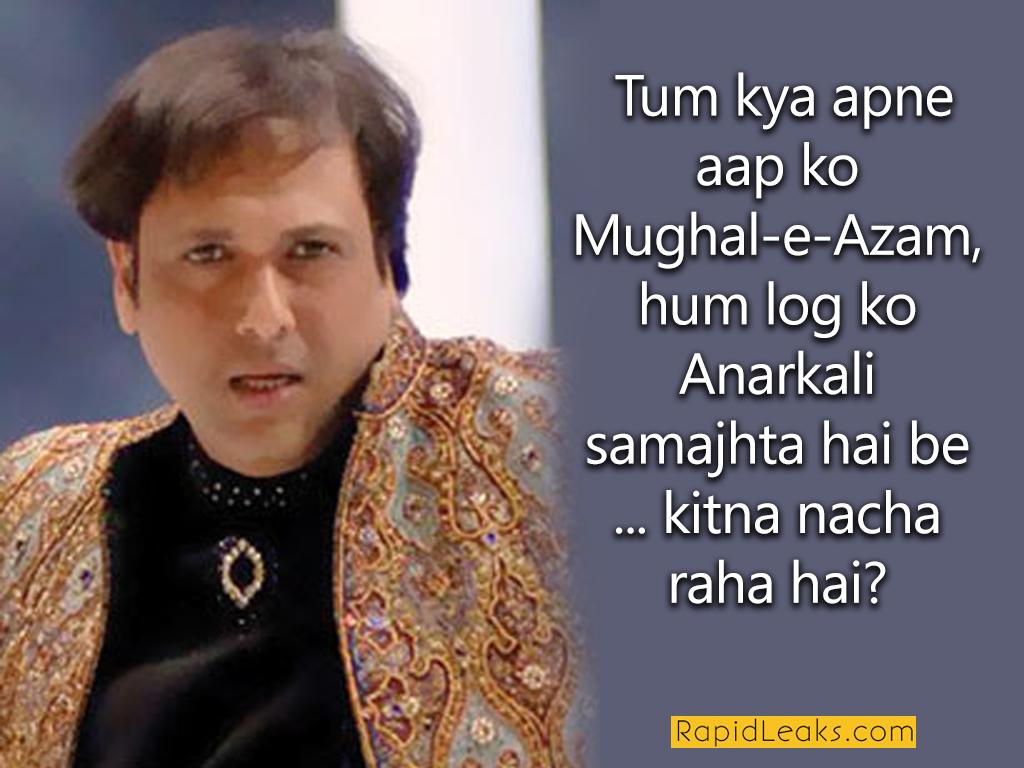 Best Govinda Dialogues
