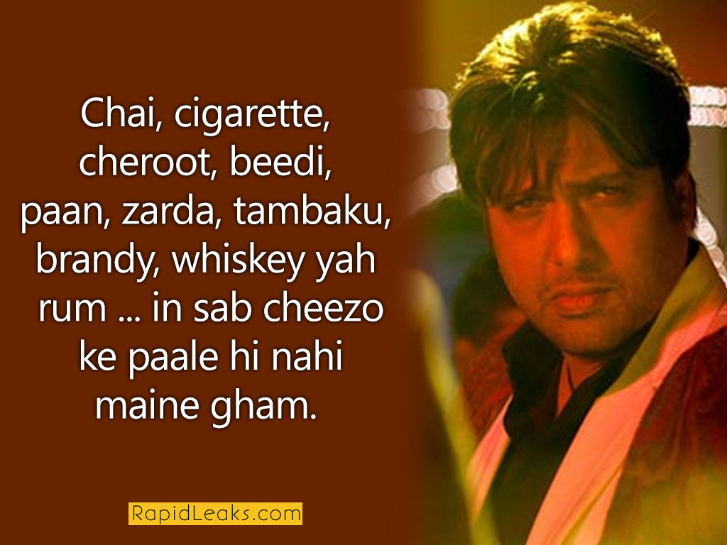 Funny Dialogues Govinda