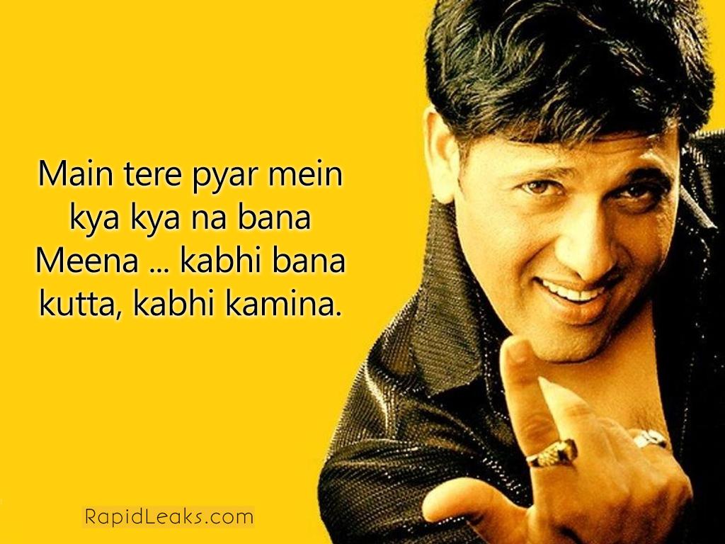 Funny Dialogues | Govinda