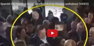Spanish PM Publically Punched by 17-year-old