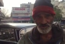 Pakistani Homeless Man