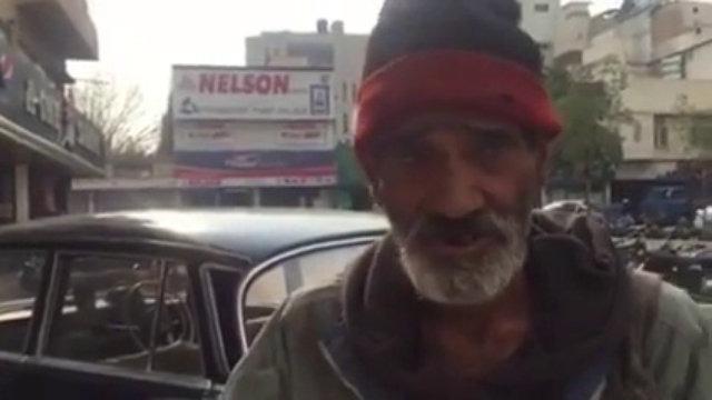 Pakistani Homeless Man