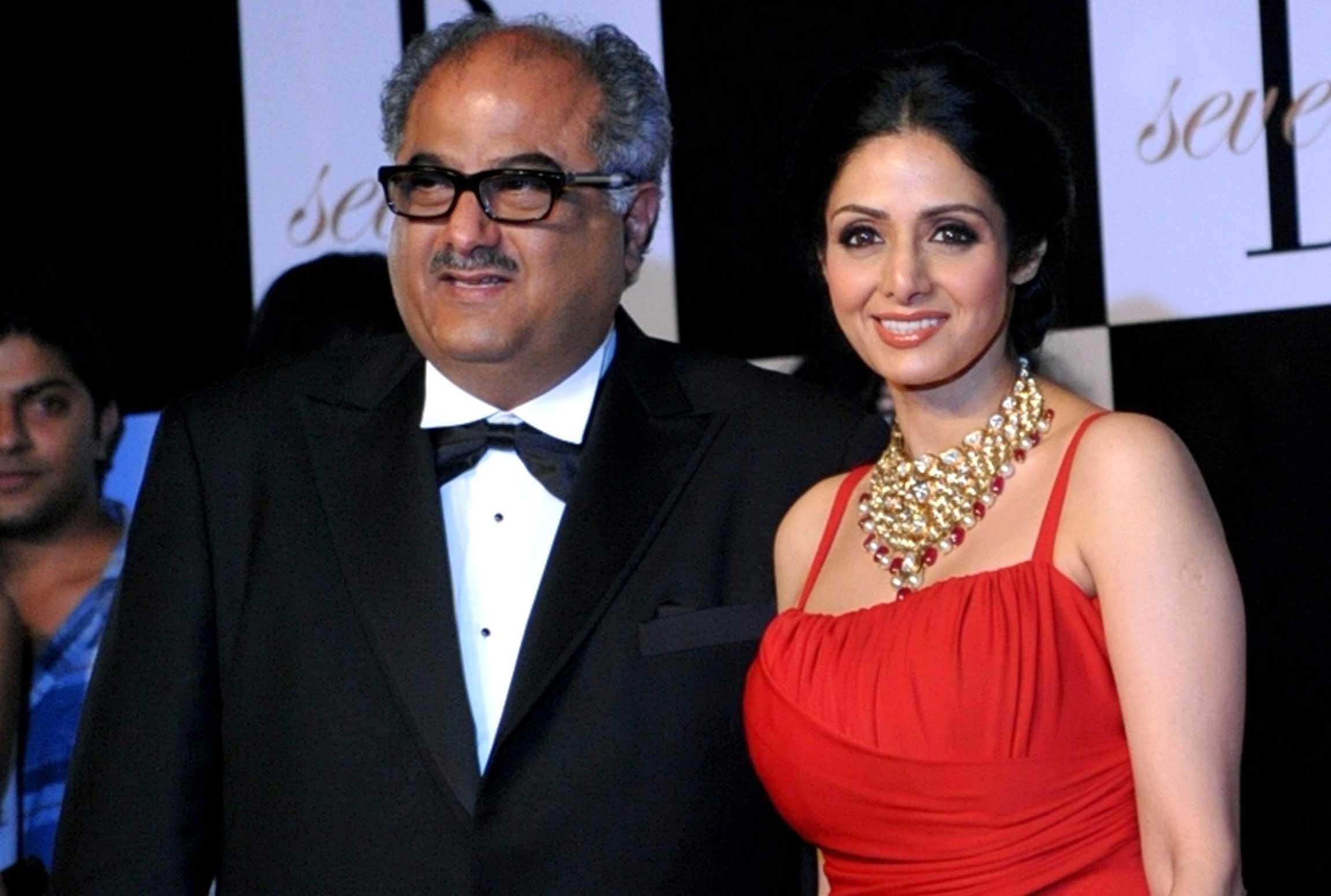 Sri Devi and Boney Kapoor