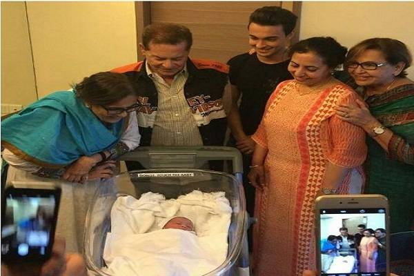 Arpita khan Baby