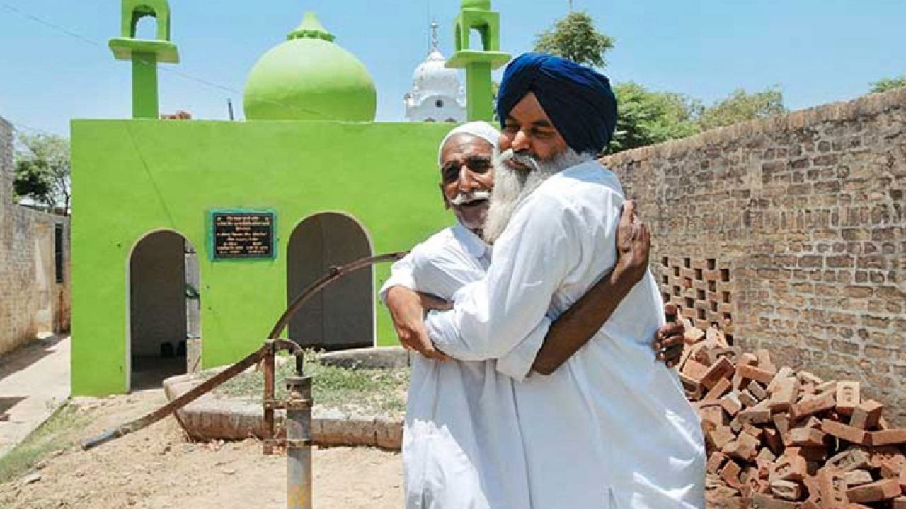 Secularism At Best: Sikhs And Hindus Renovate 59-Year-Old Mosque For Single  Muslim Family In Punjab Village