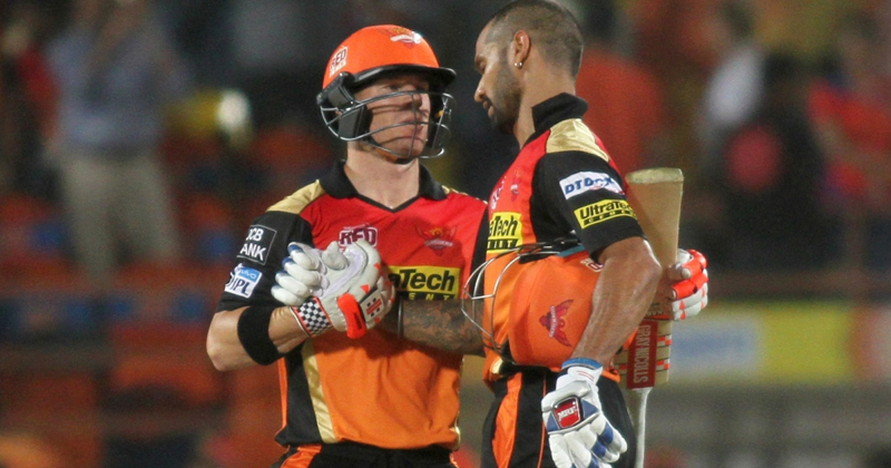 Shikhar Dhawan and David Warner