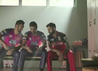 Dhoni, Virat and Ashwin