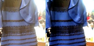 Blue And Black Dresses
