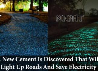 Solar Powered Cement