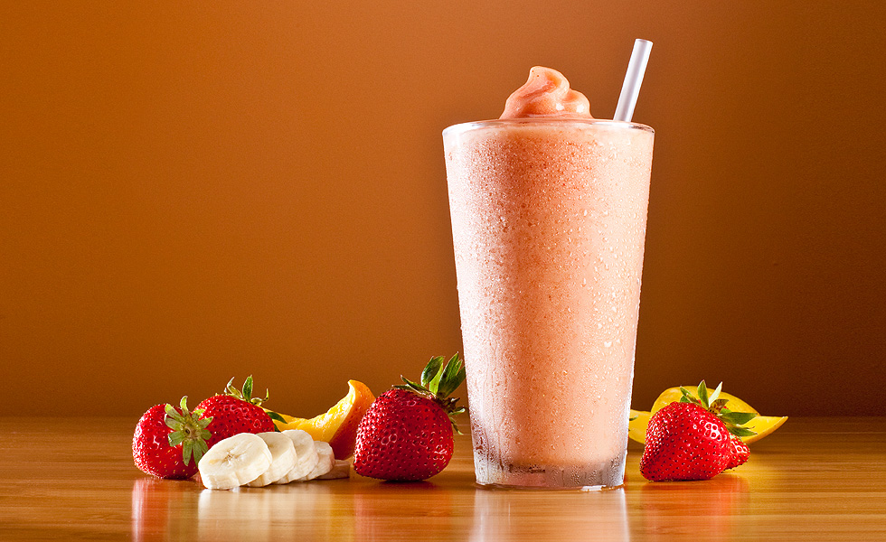 Banana Strawberry Mocktail