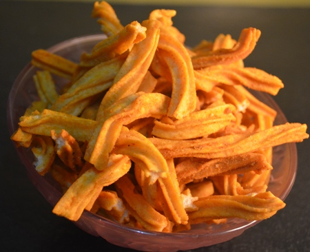 Soya sticks or Nachni chips