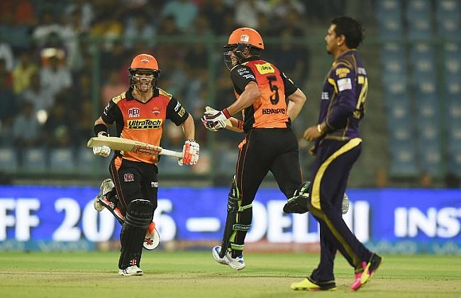 SRH Eliminated KKR To Face Gujarat Lions In Second Qualifier!!