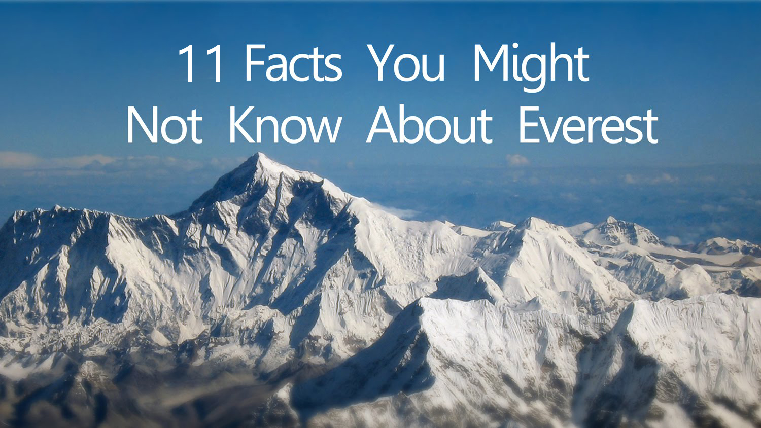 mount everest facts - HD 1500×844