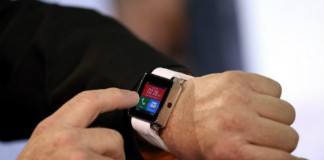 Smartwatch With Two Touch Screens.
