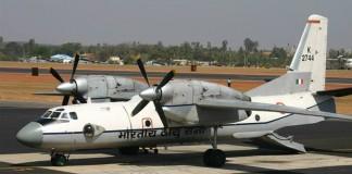AN-32 Plane