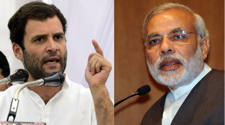 "Rahul Gandhi attacked Modi, alleging he gave ""brooms to the poor"" under Swachh Bharat Mission"