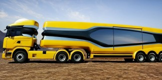 Scania DC mobile jewellery store
