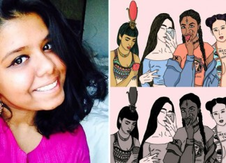 Meet Indian Teen Artist Who Is Redefining Goddesses As Modern-Day Feminists.