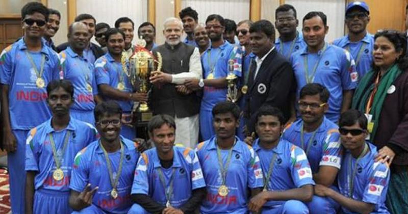 Indian Blind Cricket Team