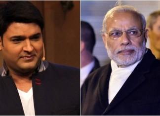 Kapil Sharma and PM Modi