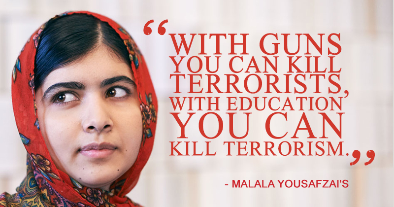 World Peace Day These Quotes By Malala Yousafzai Would Be The Best