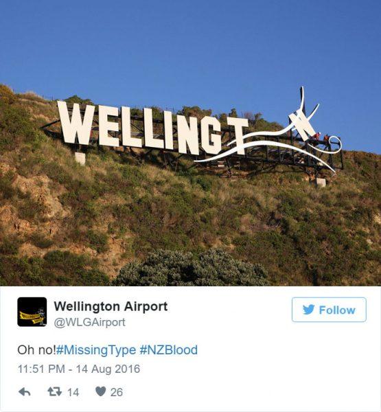Wellington-drops-letter-O