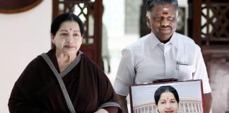 Jayalalithaa and Panneerselvam