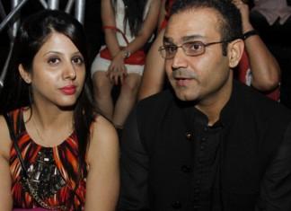 Virender Sehwag and Aarti Sehwag