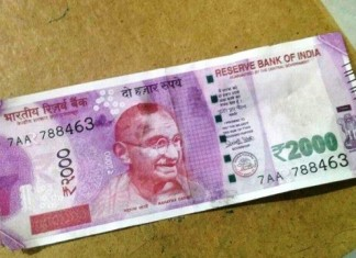 fake rs. 2000 note