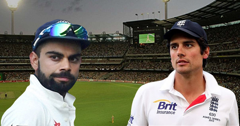 Virat Kohli and Cook