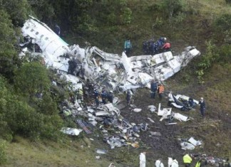 Russian Defence Ministry plane crashed