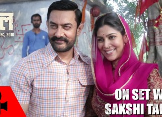 Sakshi Tanwar and Aamir Khan