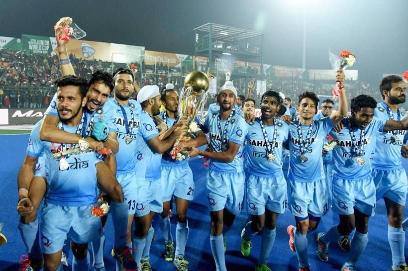 India Lifts Jr. Hockey World Cup