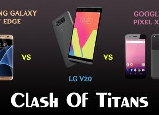 LG V20 vs S7 vs XL