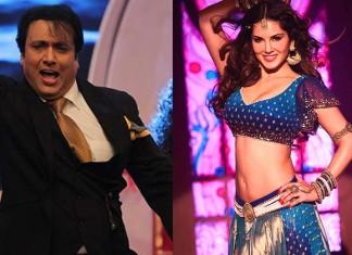 Sunny Leone and Govinda