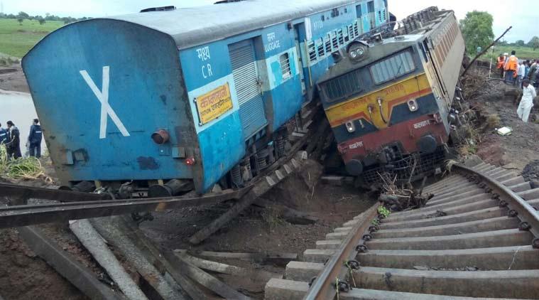 Rajendra Nagar Express Derails