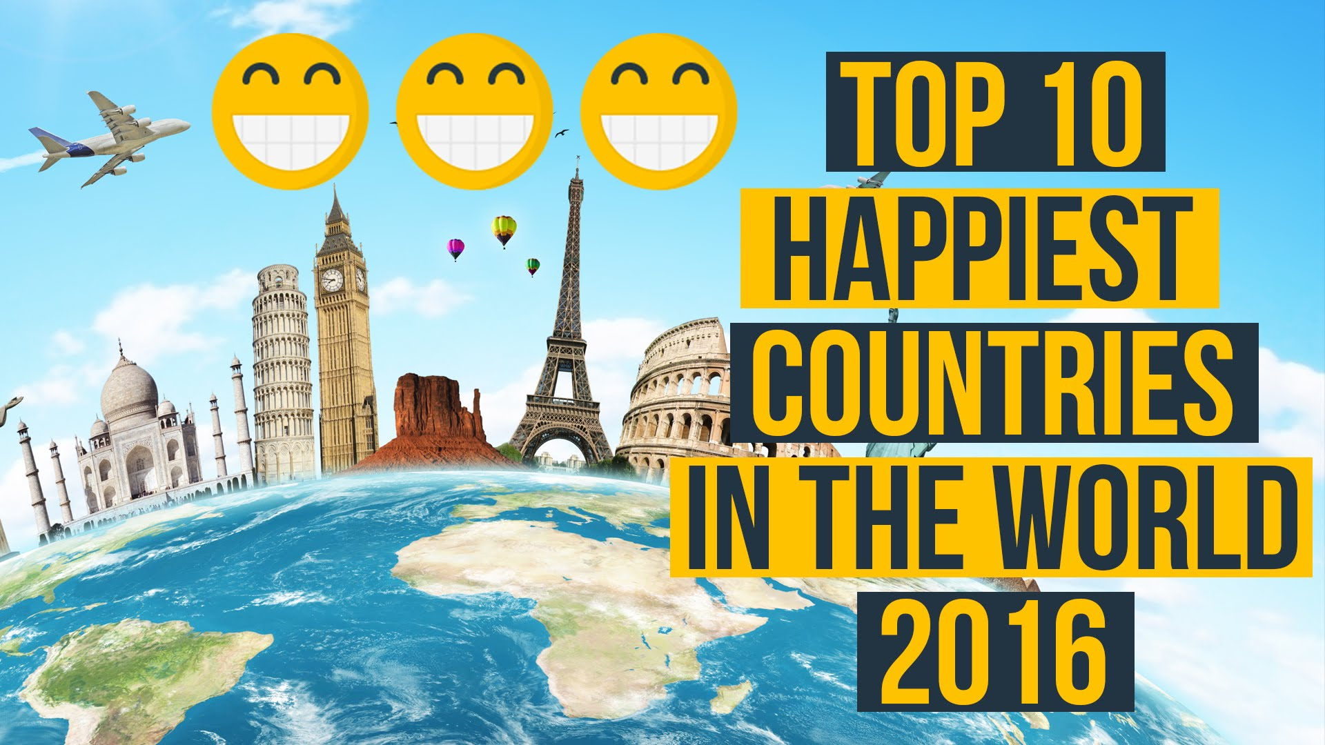 Happiest Countries In The World