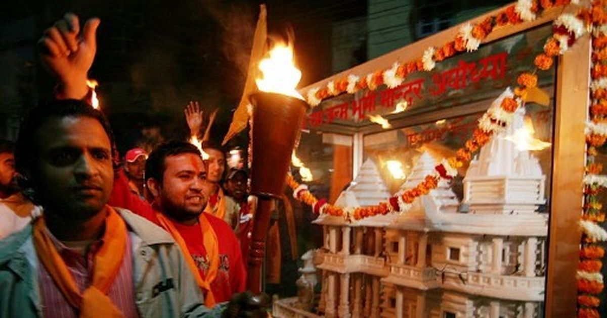 BJP Promises Ram Mandir in Ayodhya