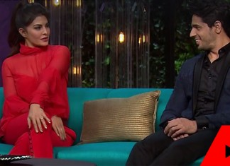Jacqueline on Koffee With Karan