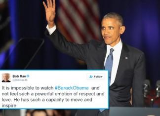 Obama's Emotional Farewell Speech