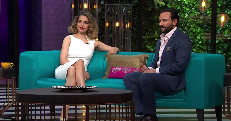 9 Times Kangana Owned The Couch And Roasted Karan On His Own Show!