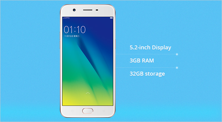 Oppo A57 features